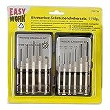 Easy Work Relojero de destornilladores (11piezas, 261729