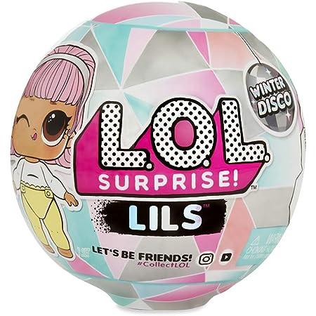 L.O.L. Surprise Sisters & Lil boule 5 surprises dont Sisters, 1 Lil Brother ou 1 Fuzzy Pets 3,5cm, Accessoires, Modèles Aléatoires à collectionner, jouet pour enfants dès 3 ans, LLU85, Multicolore
