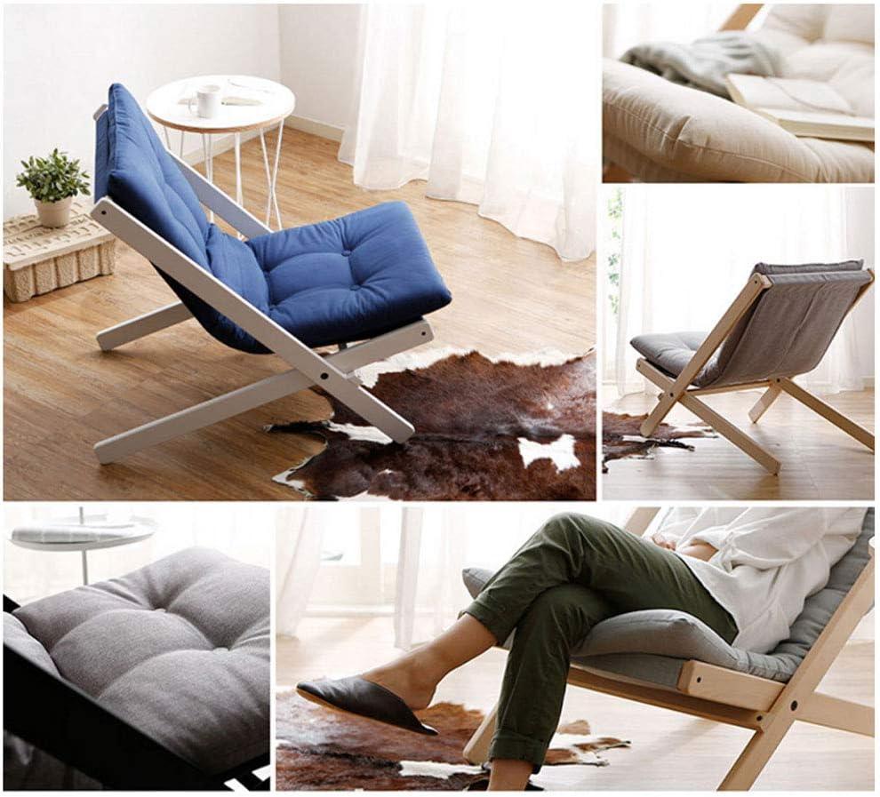 Chaise de Bureau Mini Petit canapé, Chaise Longue Pliante de Fauteuil de Balcon de Loisirs de Sofa Paresseux Japonais Fauteuil de Bureau (Color : A) A