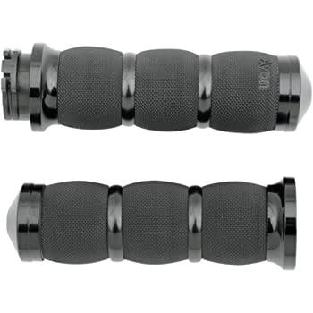 BLACK AIR SS GRIPS With THROTTLE BOSS F-B-W