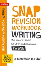Collins GCSE 9-1 Snap Revision – Writing (for papers 1 and 2) Workbook: New GCSE Grade 9-1 English Language AQA: GCSE Grade 9-1
