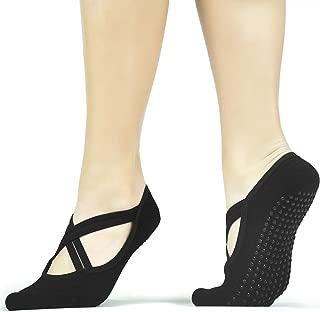 Yoga Socks 1-4 Pack Ballet Barre Pilates Fitness Women Socks