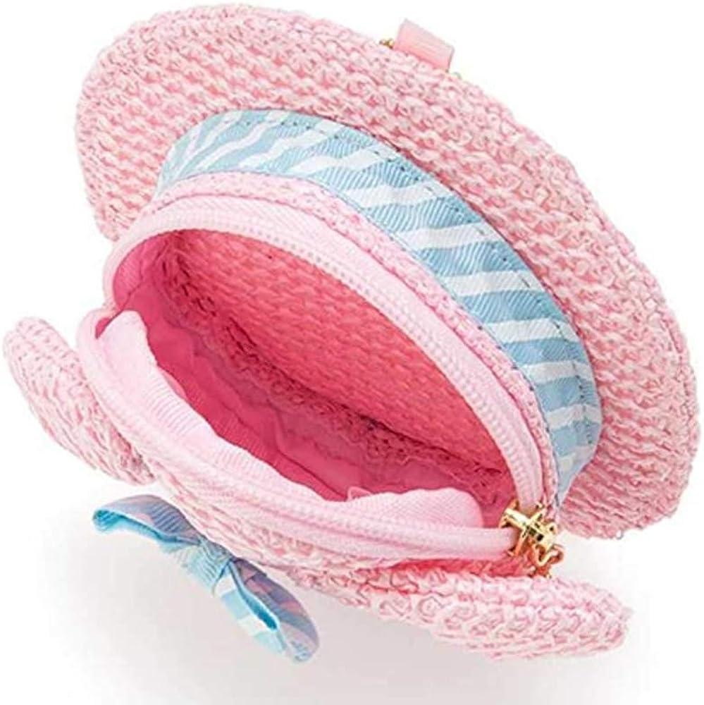 My Melody Bag Hello Kitty Bag Cute Cartoon Figure Pink Shoulder Bag Woven Bag Anime Cosplay Doll Handbag for Girls Fans