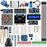 Starter Kits for Arduino Kits UNO R3 Nano V3.0 Mega 2560 Mega 328 Kit Project Kit Compatible with Arduino IDE(English Tutorial)