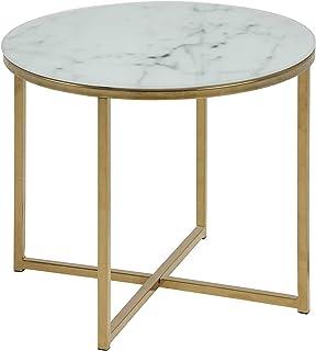AC Design Furniture 0000074144 Esquina, Marco De Oro
