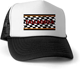 CafePress - Talladega Alabama License Plate Trucker Hat - Trucker Hat, Classic Baseball Hat, Unique Trucker Cap