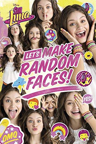 empireposter Soy Luna-Random Face Group-filmposter Kino Movie Disney Serie Poster Afdruk Poster Afmeting 61x91,5 cm, papier, kleurrijk, 91,5 x 61 x 0,14 cm