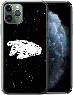eSwish Gel TPU Phone Case/Cover for Apple iPhone 11 Pro/Falcon Ship Design/Empire Galaxy Wars Collection