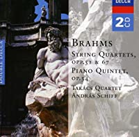 Brahms: String Quartets; Piano Quintet, Opp. 34,51,67 (2006-09-25)