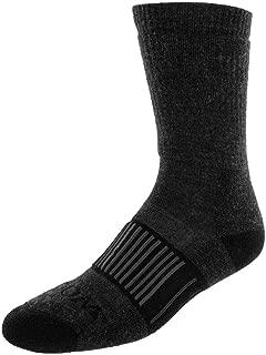 Woolx Woodland - Unisex Merino Wool Hiker Boot Sock - Full Cushion For Men & Women