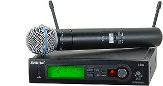 Shure Instrument Condenser Microphone, Black (SLX24/BETA58-G5)