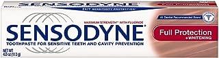 Sensodyne Sensitivity Toothpaste for Sensitive Teeth, Full Protection, 4 ounce (Pack of 4)