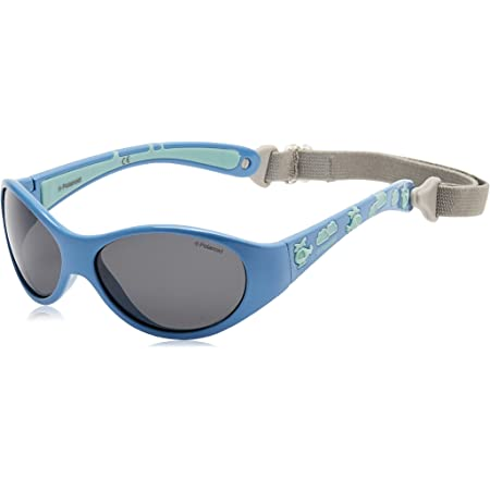 Polaroid - Gafas de sol Rectangulares P0401 para niños
