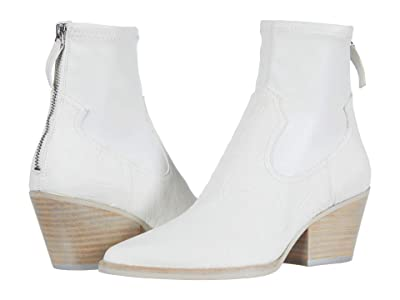 Dolce Vita Shanta (White Embossed Leather) Women