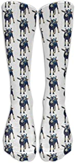 Unisex Gertie The Goat Casual Long Stocking Athletic Sports Football Socks