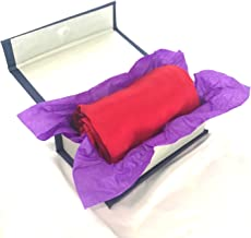 SNEZHINKA® 100% Mulberry Silk Pillow Cover (21 Momme, Standard Size, Red Colour)