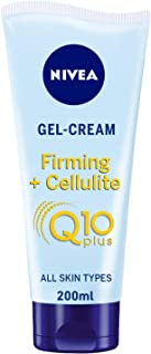 NIVEA Q10+ Firming + Cellulite Body Cream Gel, Lotus Extract, All Skin Types, 200ml