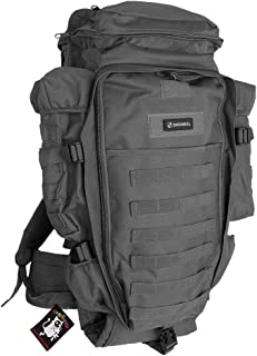 SHENKEL 大型リュックサック ミリタリーモデル バックパック ブラック bag-011bk