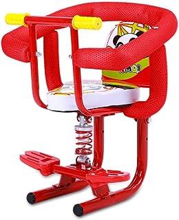 Moto eléctrico del Asiento del niño del Asiento Delantero Niño con la manija Desmontable barandilla de protección y Asiento de Seguridad for bebés Pedal