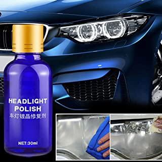 High Density Headlight Polish Liquid Cars Restoration Fluid Durable Car Repair 30ml