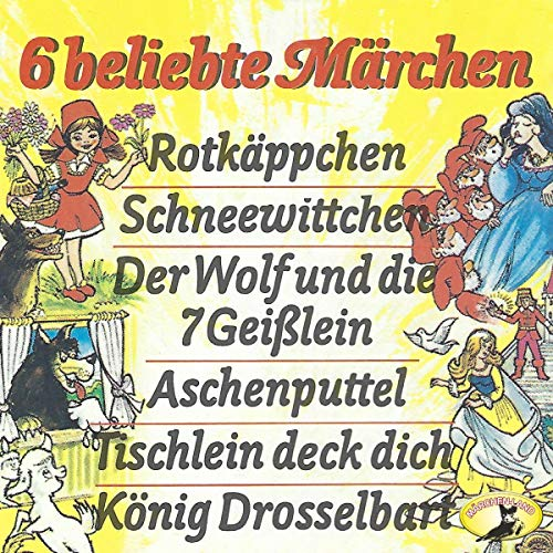 『6 beliebte Märchen』のカバーアート