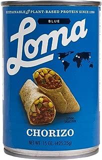 Loma Linda Blue - Plant-Based - Chorizo (15 oz.) - Non-GMO, Gluten Free, Kosher