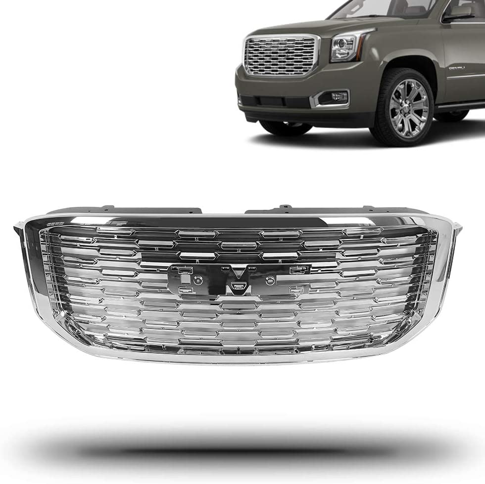 New Max 55% OFF Grille Grill Compatible with Save money Denali Yukon SL 2018