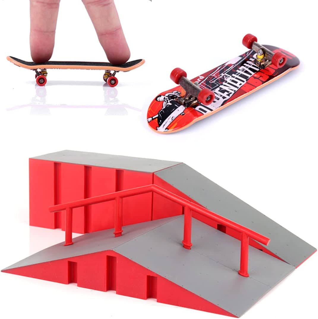 Finger Skateboard Ramp Tampa Mall OFFicial shop Kit with Sk Toy Board Skate