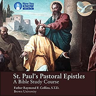 St. Paul's Pastoral Epistles: A Bible Study Course audiobook cover art