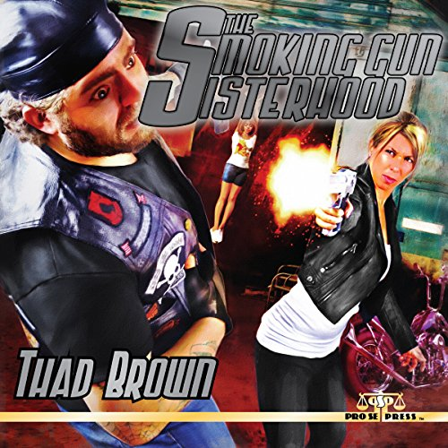 The Smoking Gun Sisterhood audiobook cover art
