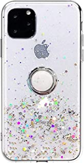 for iPhone 6 Case, iPhone 6s Case, GIZEE Glitter Bling Sparkle Shockproof Bumper Anti-Drop TPU Back Silicone Cover Girly P...
