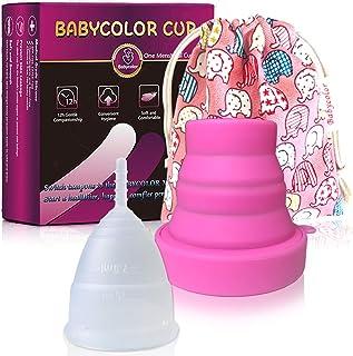 comprar comparacion Copa Menstrual-copa menstrual más recomendada-Incluye una bolsa de regalo - Silicona suave reutilizable de grado medicinal