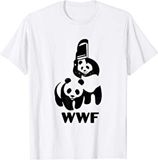 Panda Bears Wwf's Funny Christmas T-Shirt T-Shirt