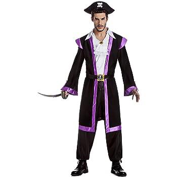 Disfraz Corsario Para Hombre Talla S: Amazon.es: Ropa y accesorios