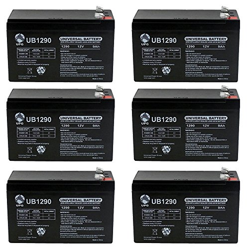Affordable Universal Power Group 12V 9AH Sealed Lead Acid Battery for Emergency Lighting Equipment a...
