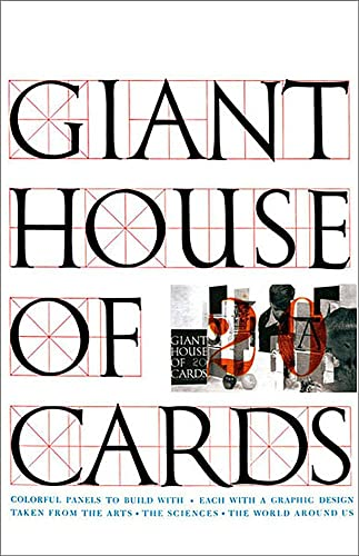Giant Eames House of Cards by Eames Office