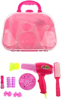 Baosity Pretend Play Cosmetic Makeup Set Girl Preschool Kid Beauty Game Toy Tool Kit