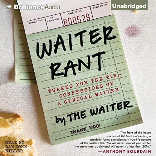 Waiter Rant audiobook cover art