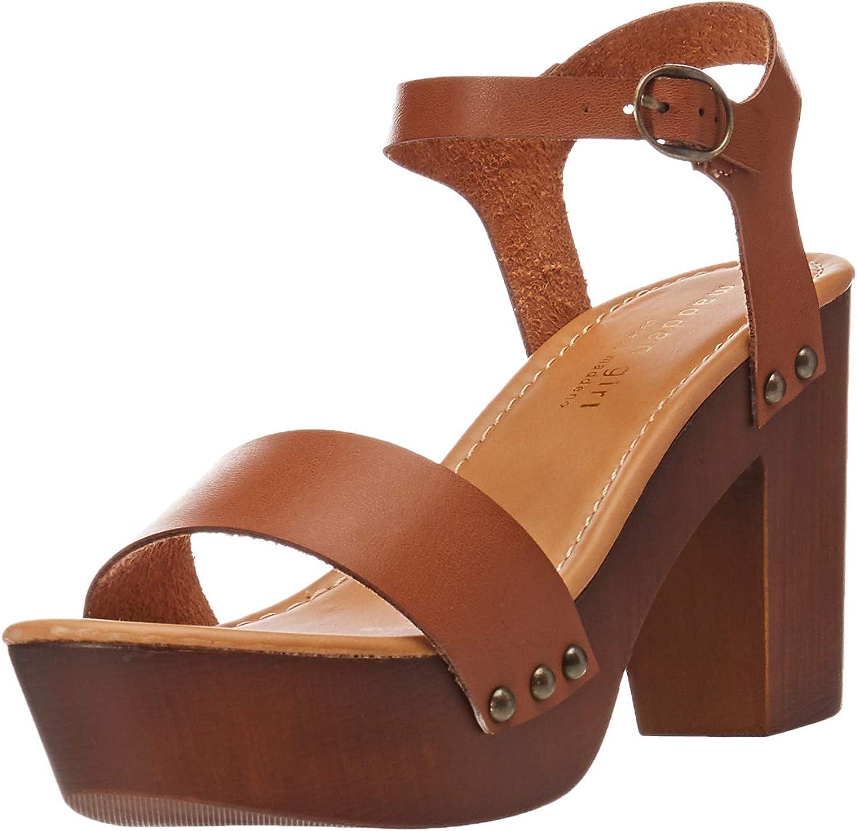 Madden girl Womens Lifft Heeled Sandal