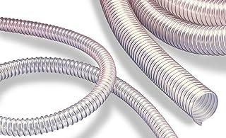 schwerentflammbar Wandst/ärke: ca mikrobenfest hoch abriebfest antistatisch PU Absaugschlauch und F/örderschlauch L/änge 5m 1,5mm VIDEFLEX PU S-AS 45mm 1 3//4 Zoll schwere Ausf/ührung