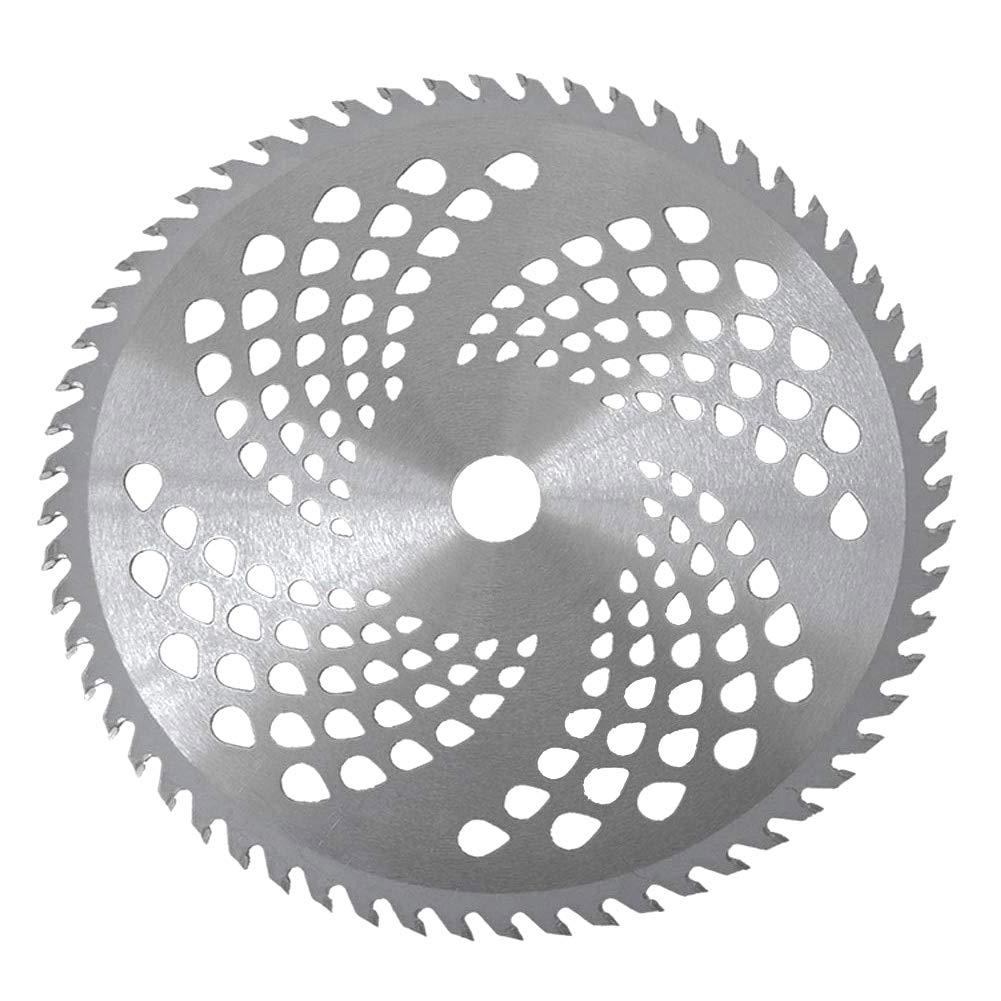 AAGOOD 80 Dientes Gradas lámina Cortacésped Brush Hoja de la Cuchilla de Repuesto Desbrozadora la lámina para la siega Máquina 1PC: Amazon.es: Hogar
