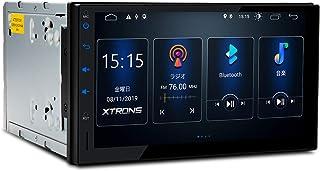 カーナビ 2DIN XTRONS Android 車載PC アップグレード版 7インチ 一体型ナビ アンドロイド カーオーディオ Bluetooth 4G WIFI GPS ミラーリング OBD2 DVR 全画面シェアー (TSD700L)