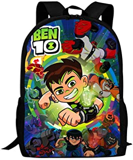 BEKAI Ben-10 Aliens | School Bags Multiple Pockets Backpack for Kids/Youth/Boys/Girls