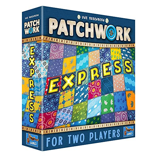 Lookout Games- Patchwork Express, Colores Variados (LK3543 ...