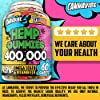 Hemp Gummies - 400,000, 60 Sweets - Stress, Insomnia & Anxiety Relief - Made in USA - Tasty & Relaxing Herbal Gummies - Premium Extract - Mood & Immune Support - Omega 3-6-9 Complex #5