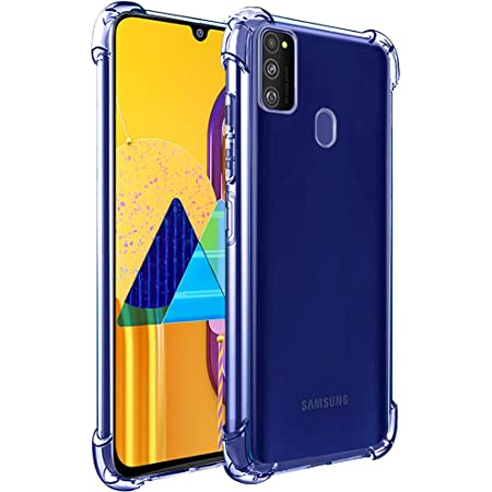 TheGiftKart Transparent Crystal Clear Back Cover for Samsung Galaxy M21 / M30s Back Cover | Shockproof Soft TPU Case | Cushioned Edges for Ultimate Protection (Transparent)