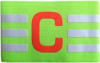 PENVEAT Adulte Enfants en Nylon /élastique r/églable de Football Capitaine Brassard Coude Health Care Respirant Nice Cadeau Bleu