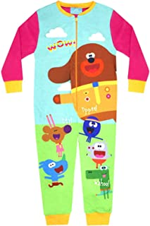 Hey Duggee Squirrel Club Girl's Pink Onesie Kid's Sleep Suit
