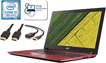 "Acer Aspire 3 15.6"" FHD Flagship Premium Laptop +CUE Accessories, Intel Core i3-8130U, 12GB DDR4 + 16GB Optane Memory, 256..."