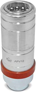 APV12-08N Hydraulic Female Quick Coupler Push Pull Connect Under Pressure